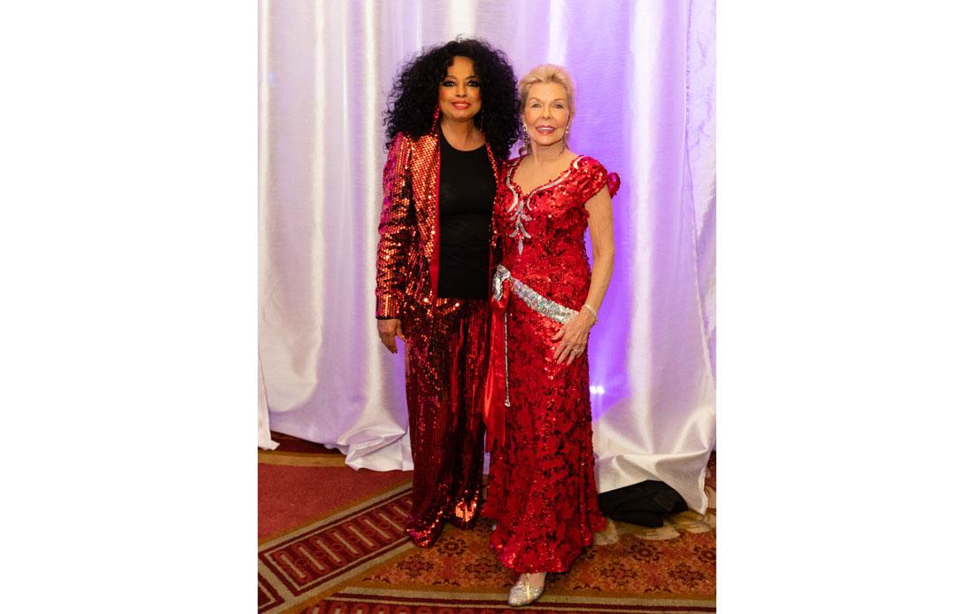Dianna Ross & Lois Pope