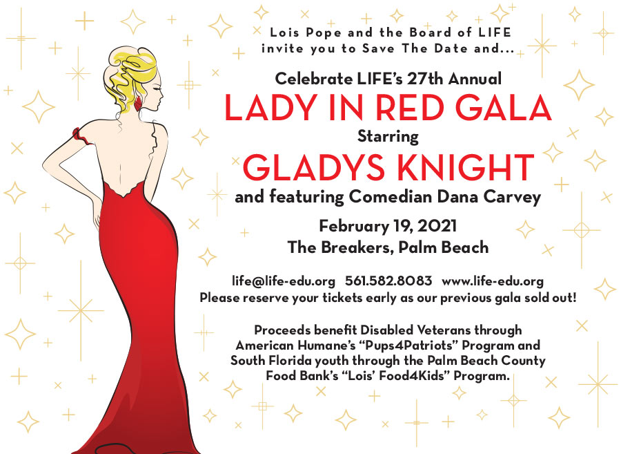 lady in red gala